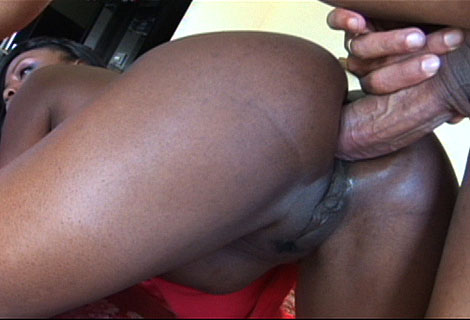 Ebony babe Jada Fire crammed twitter her sweet ass with massive cock