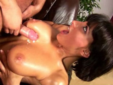 Busty pornstar has her big scoops spermed