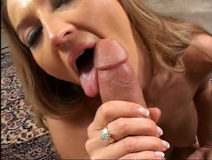 Hot milf loves to suck her mans cock