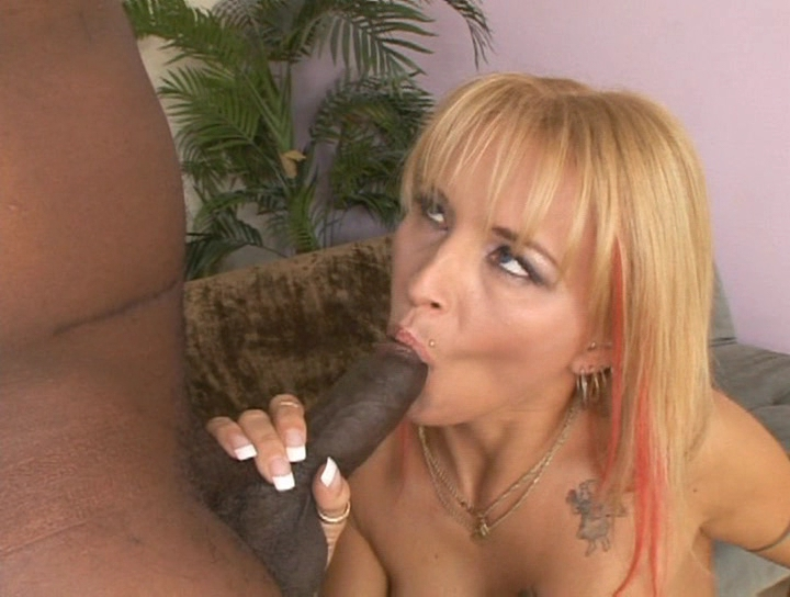 Sexy blonde milf gal loves her black cock